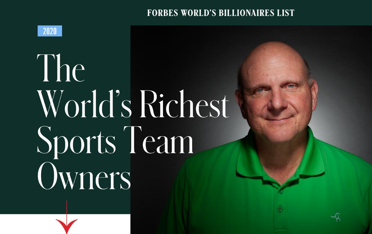 Billionaires 2020 | Ellos son los dueños de equipos deportivos más ricos del mundo