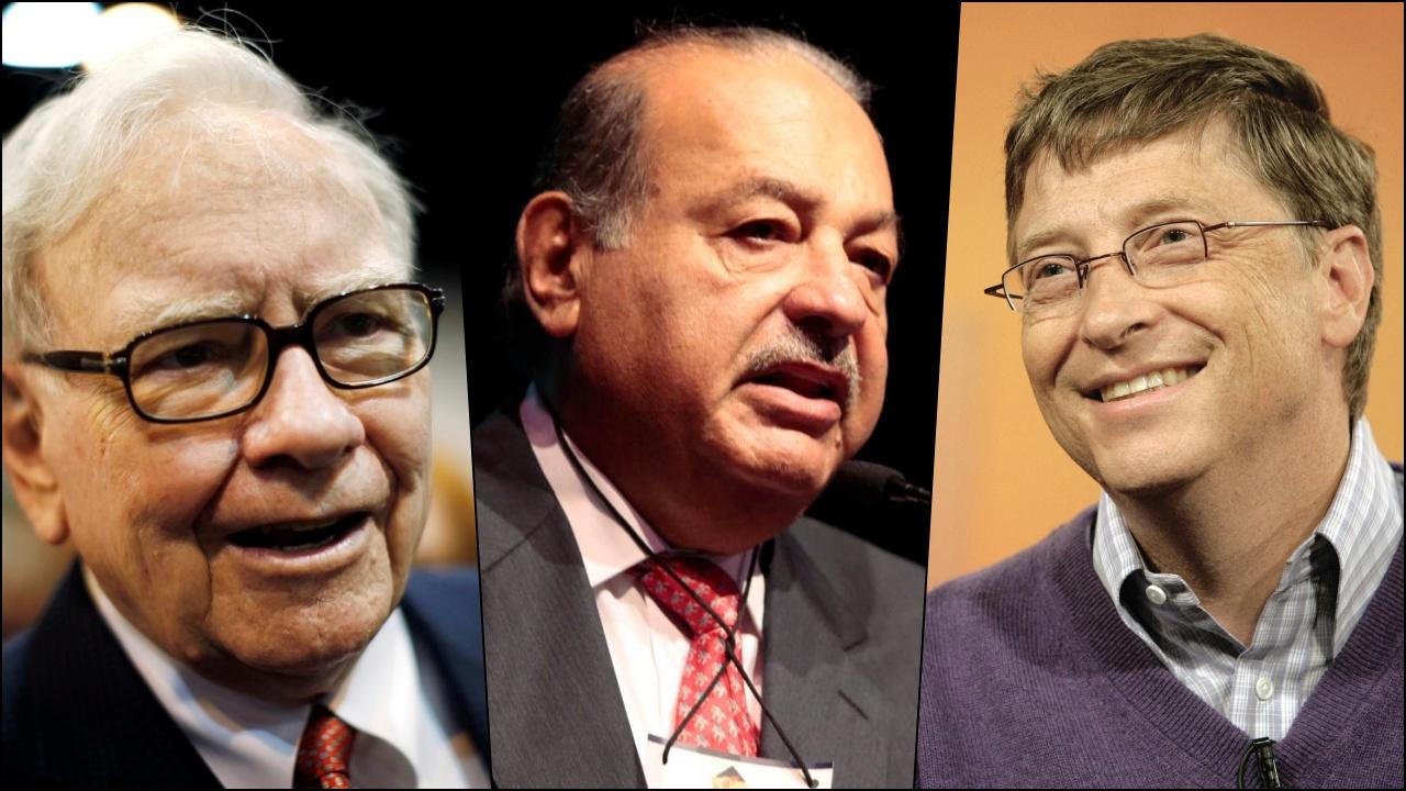 Buffett, Gates y otros multimillonarios pierden 57,000 mdd ante el pánico por Covid-19