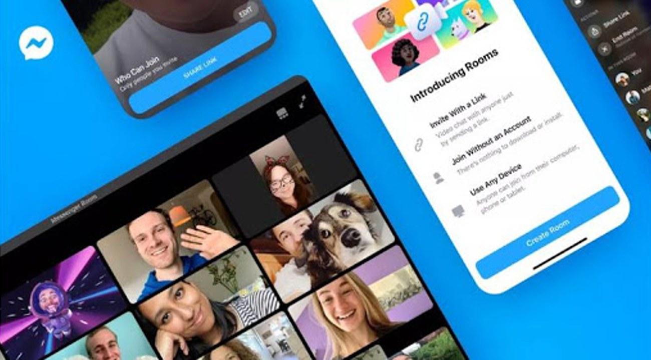 Facebook entra en la competencia de las videoconferencias con Messenger Rooms