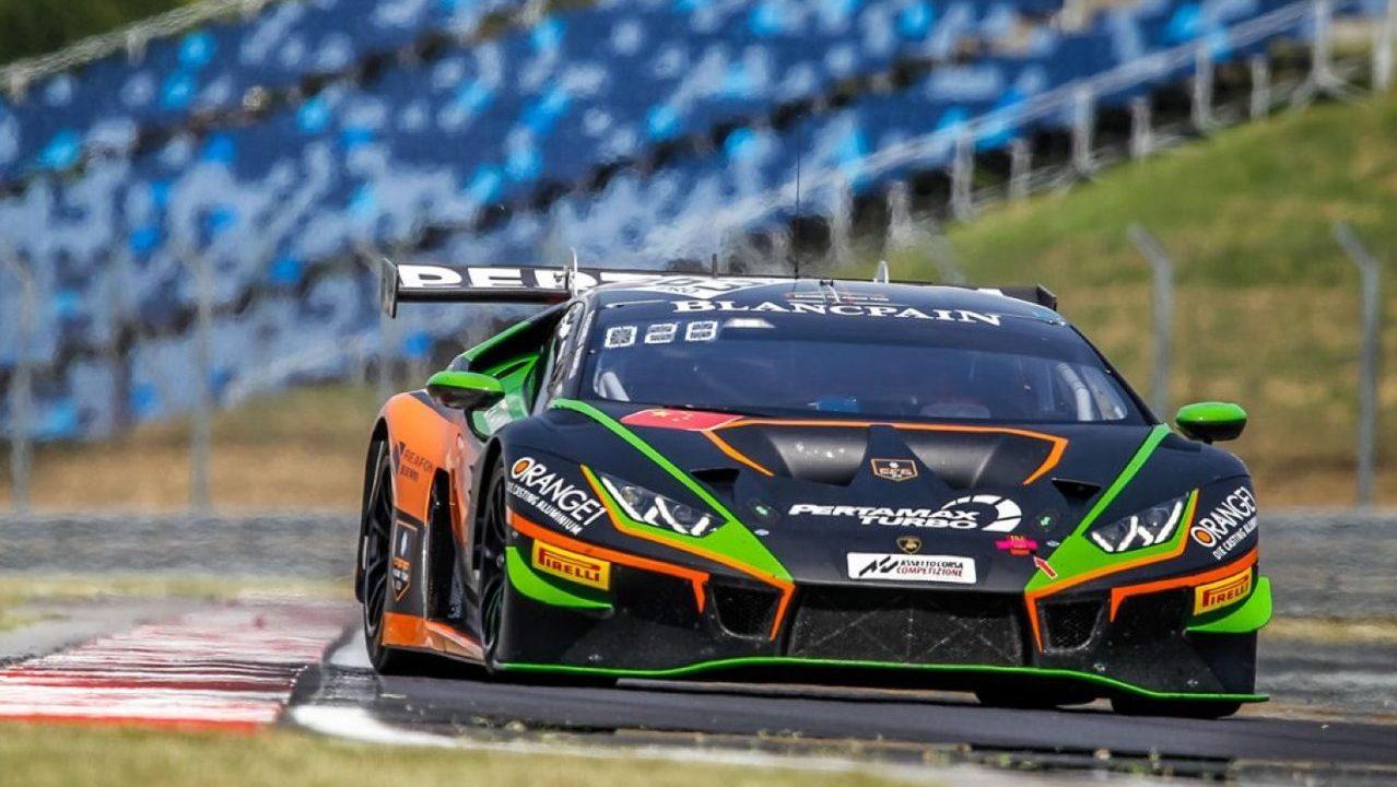 Andrea Caldarelli, la carta fuerte de Lamborghini para la serie SRO E-Sport GT