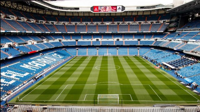 Estadio de Real Madrid FIFA EA