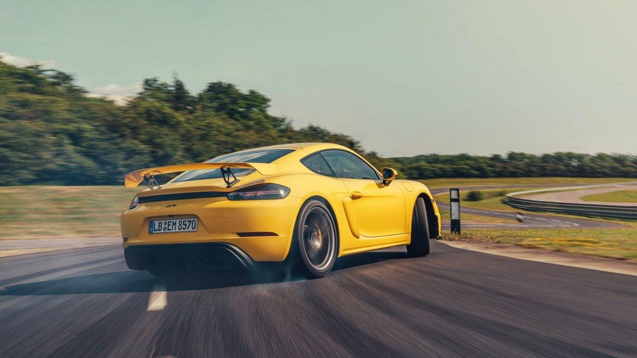 auto de carreras Porsche