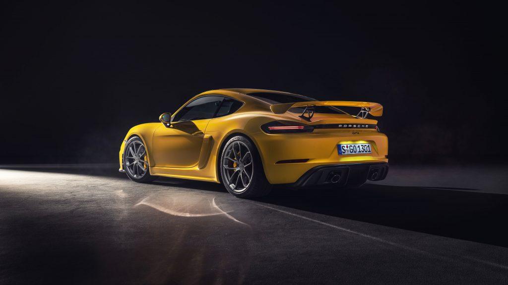 Sombras en fotografia de autos Porsche