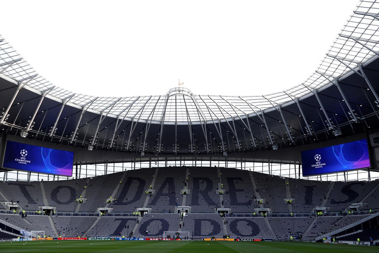 Ante pandemia de Covid-19, Tottenham convierte su estadio en hospital