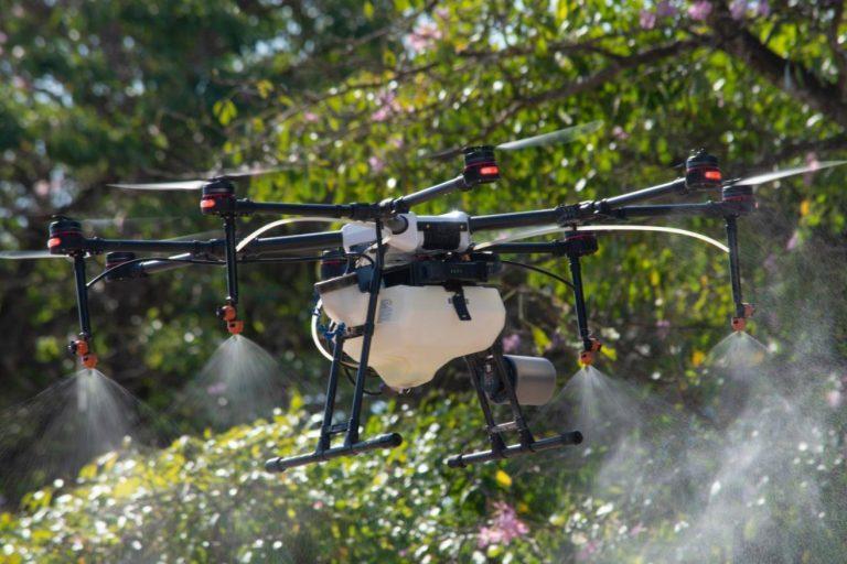 Drones sanitizan las calles de Polanco; servicio llegaría a otras colonias