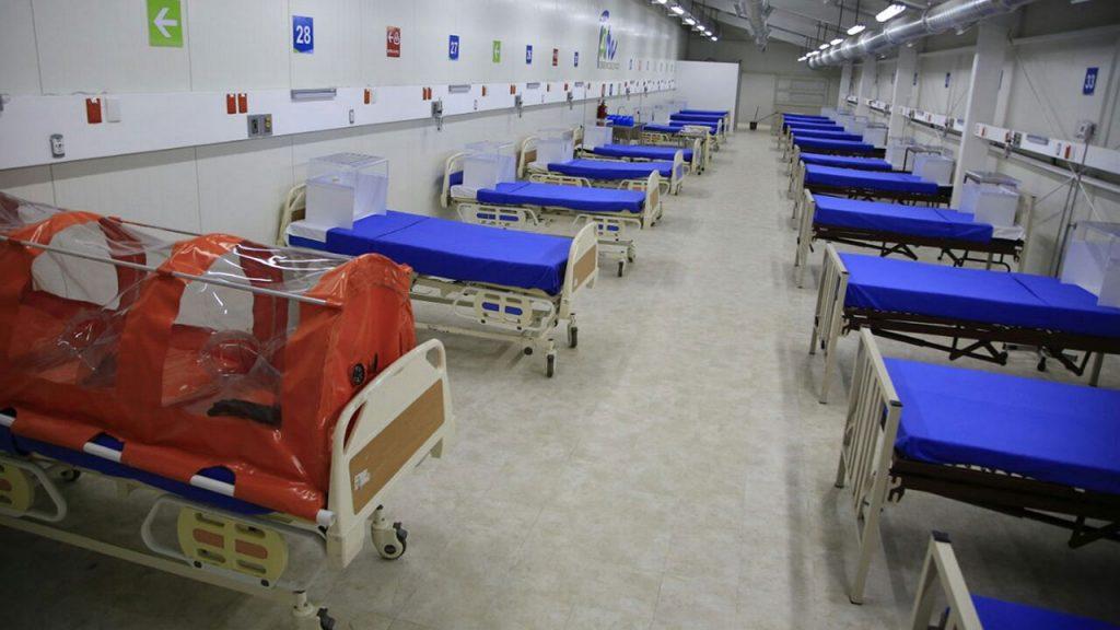 Coronavirus Entrega de hospitales temporales en Tamaulipas