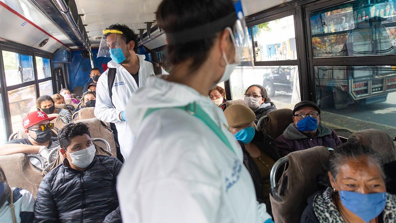 Iztapalapa, asfixiada por el coronavirus: líder en contagios y hospitales saturados