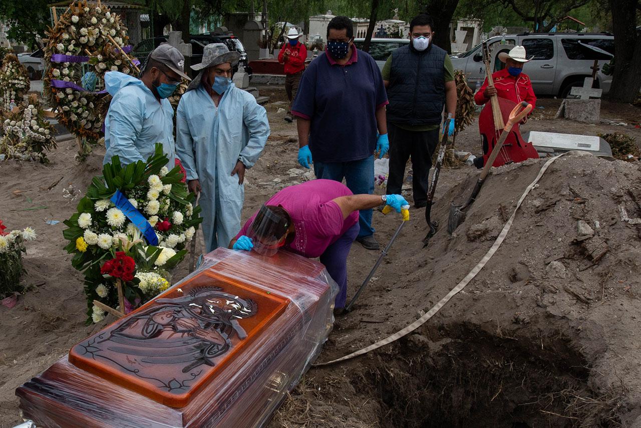México supera los 90,000 casos confirmados de Covid-19