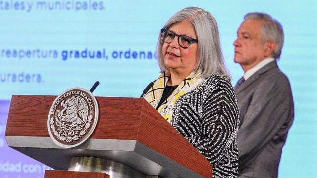Graciela Márquez Colín y AMLO