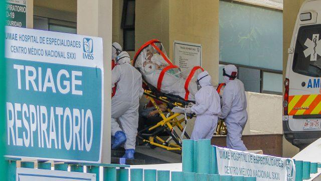 Coronavirus Hospital Centro Médico durante la pandemia de COVID-19