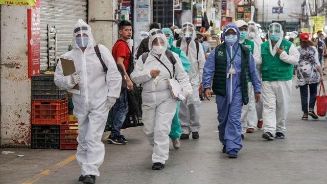 Coronavirus COVID-19 pandemia-OMS
