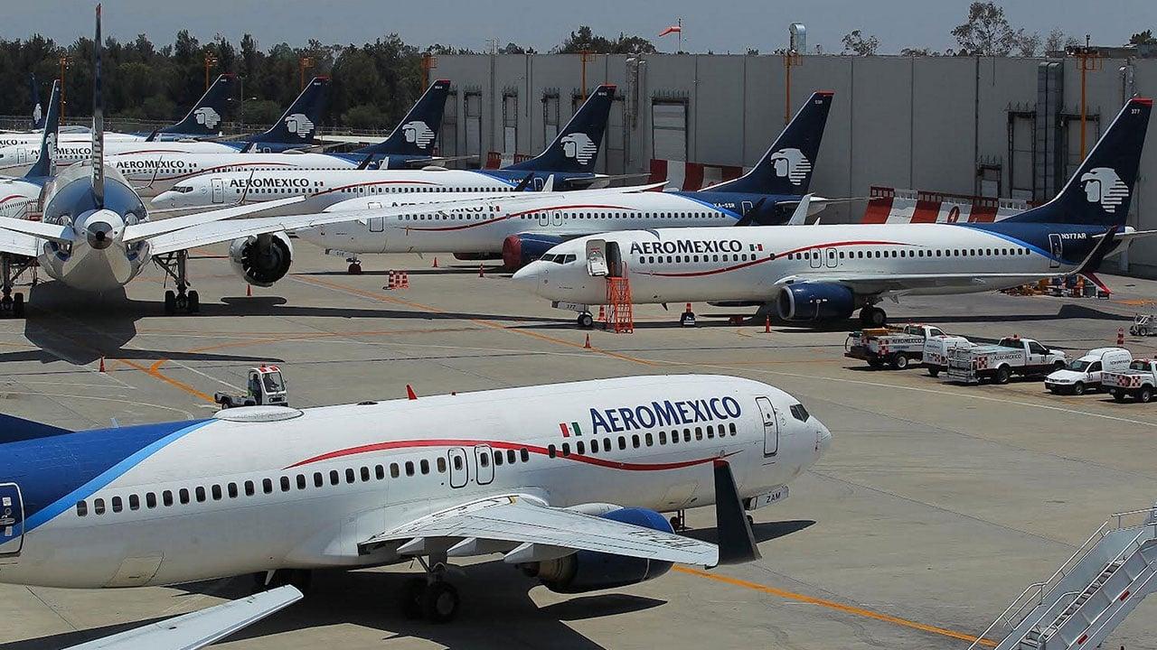 Acciones de Aeroméxico ganan por segundo día luego de su desplome de 28%