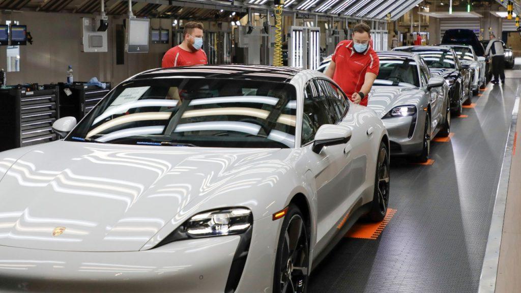 Autos deportivos Porsche