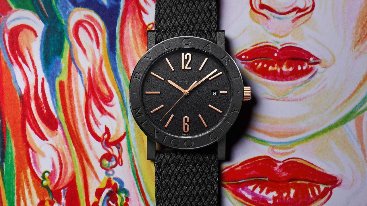 Bvlgari presenta reloj que hace homenaje a la Ciudad de México