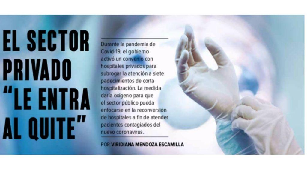 Hospitales privados coronavirus
