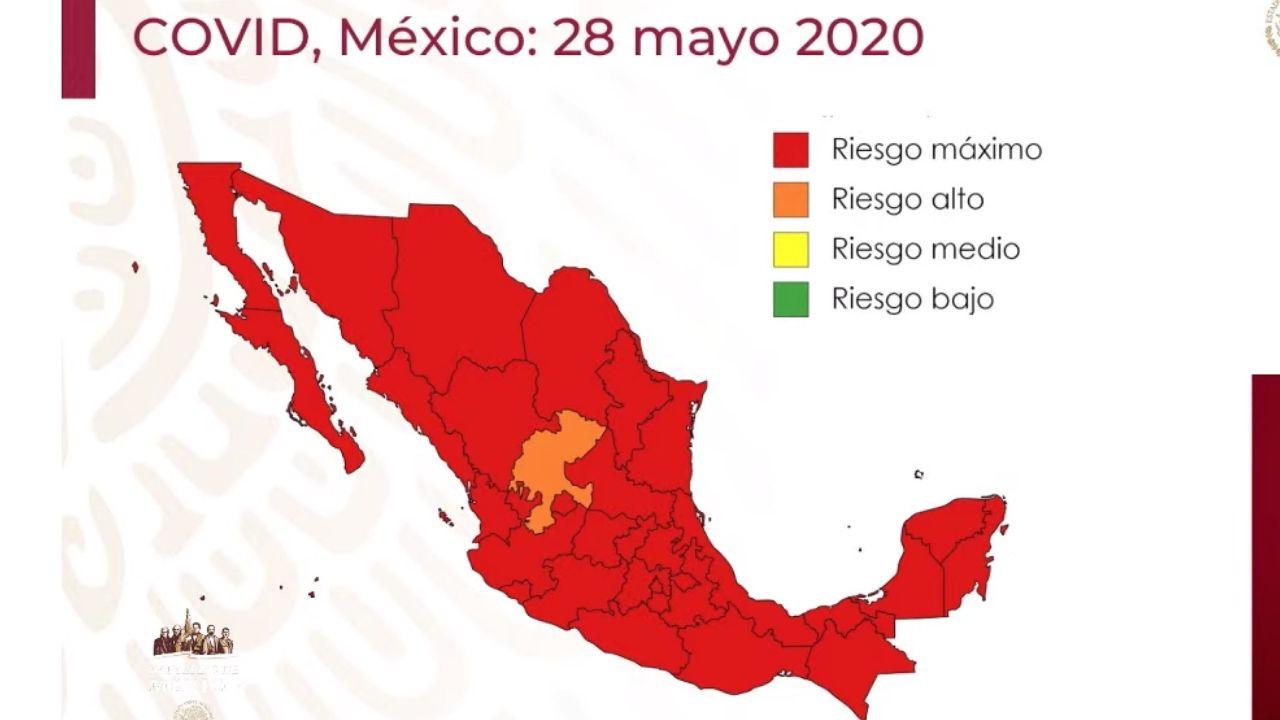 Mexico semaforo epidemiologico