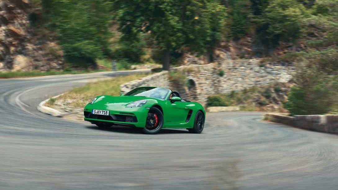 Adrenalina en la Costa do Sol al volante del Porsche 718 Boxter GTS 4.0