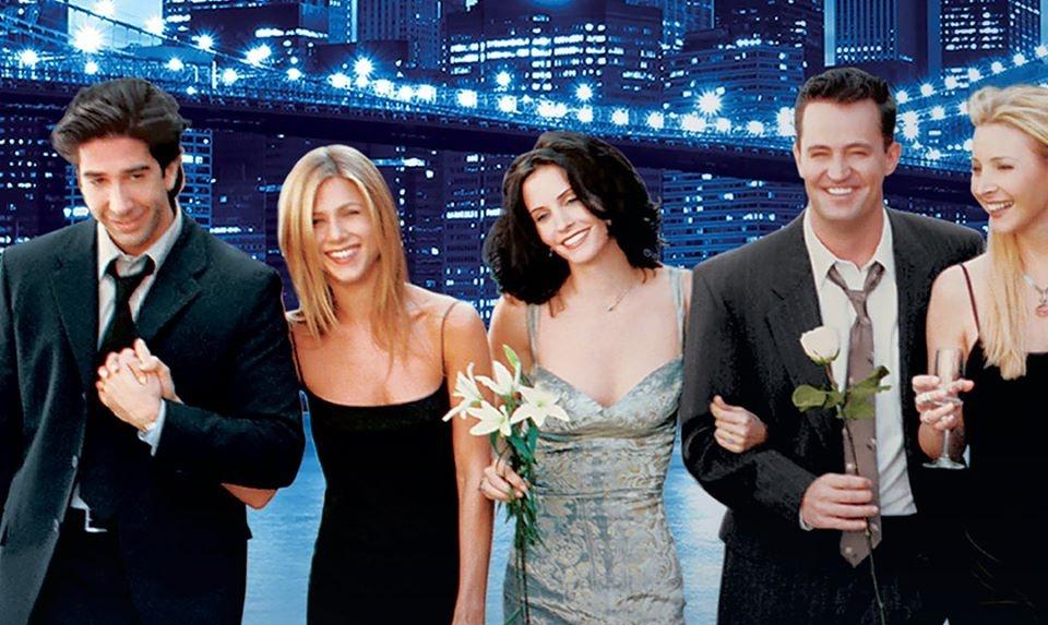 """Reunión de """"Friends"""" a la espera de poder filmarla de manera convencional"""