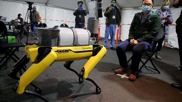 Coronavirus Boston Dynamics Robot In Use To Help COVID-19 Patients