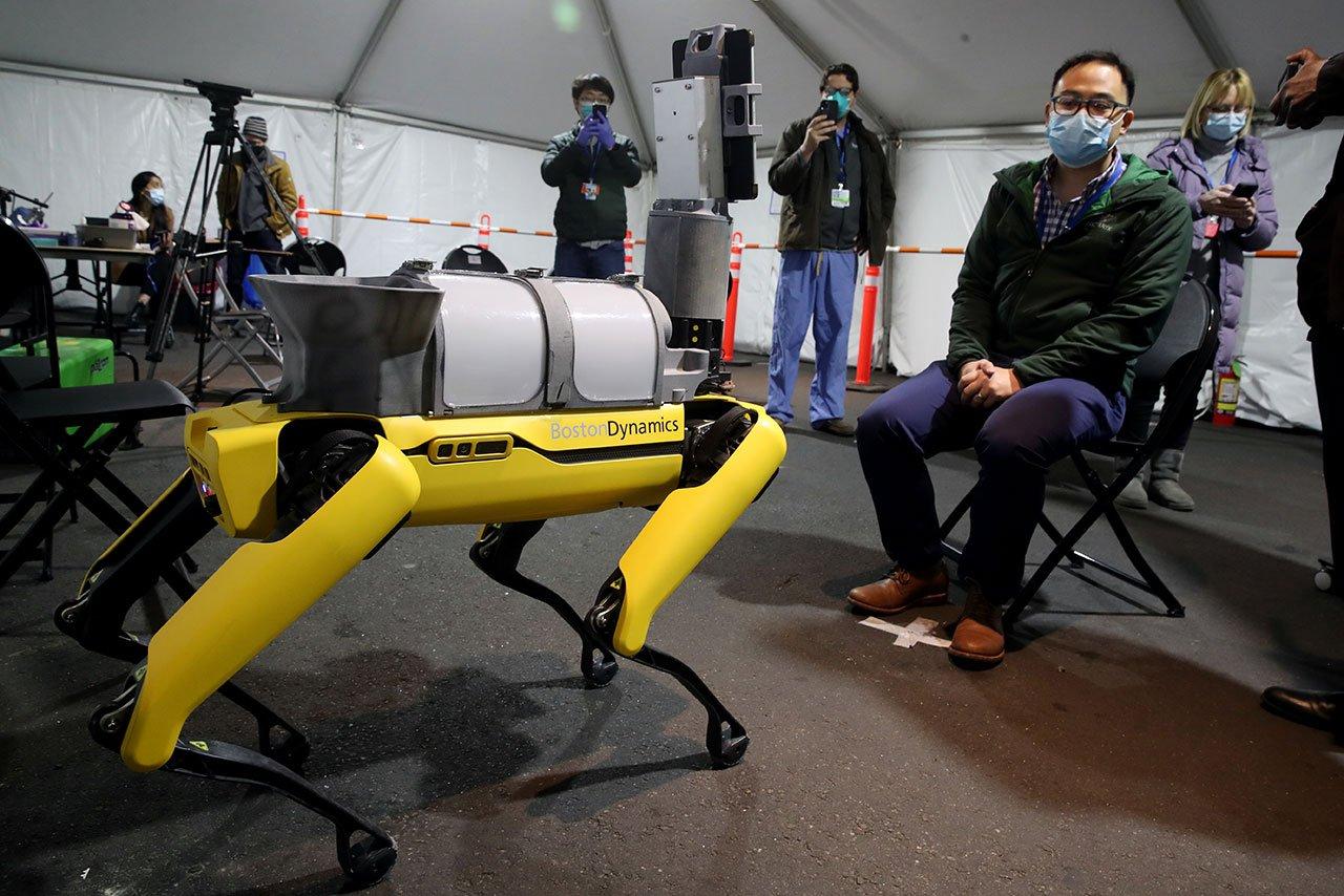 Coronavirus Boston Dynamics Robot In Use To Help COVID-19 Patients