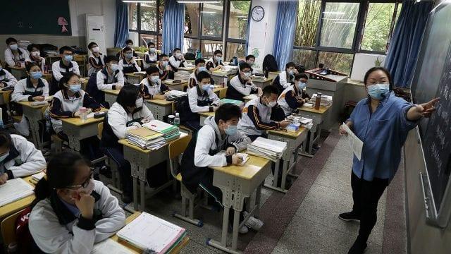 CORONAVIRUS CHINA WUHAN RESUMES SCHOOLS