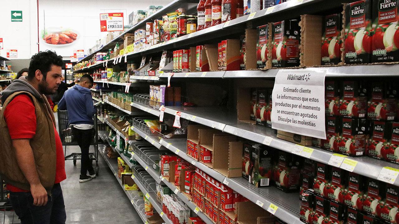 Cuarentena incrementa precios de productos de canasta básica más del 50%