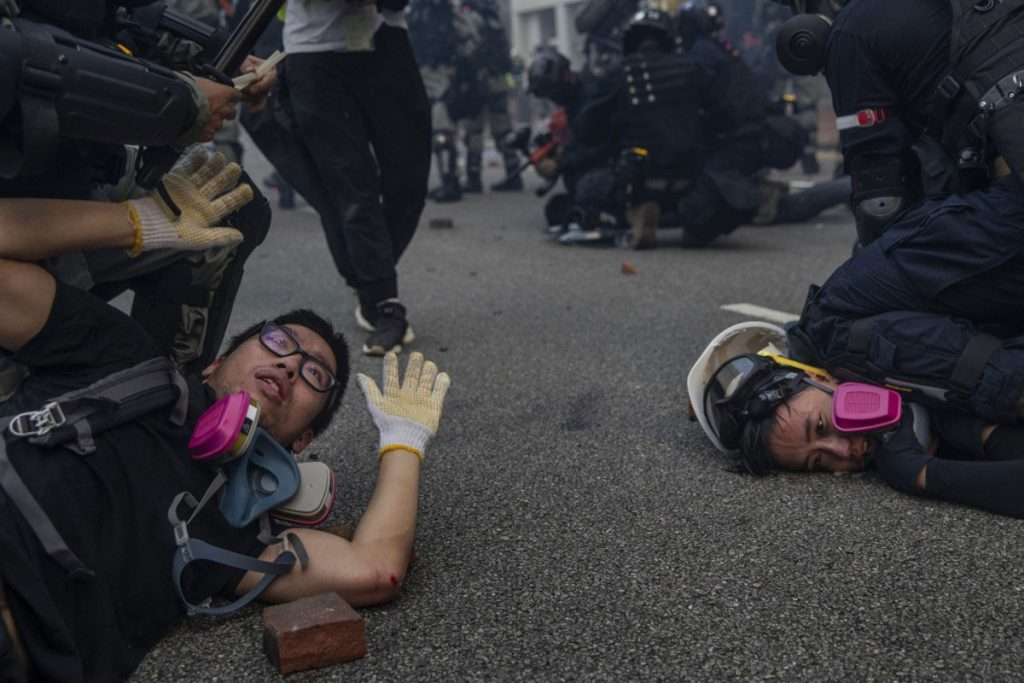 Hong Kong Reuters Pulitzer Prize for Breaking News Photography Protestas 11