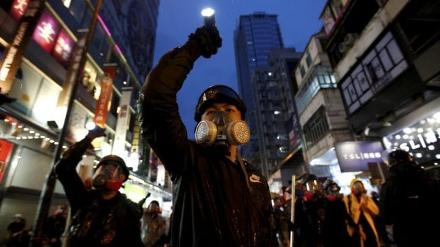 Hong Kong Reuters Pulitzer Prize for Breaking News Photography Protestas 2