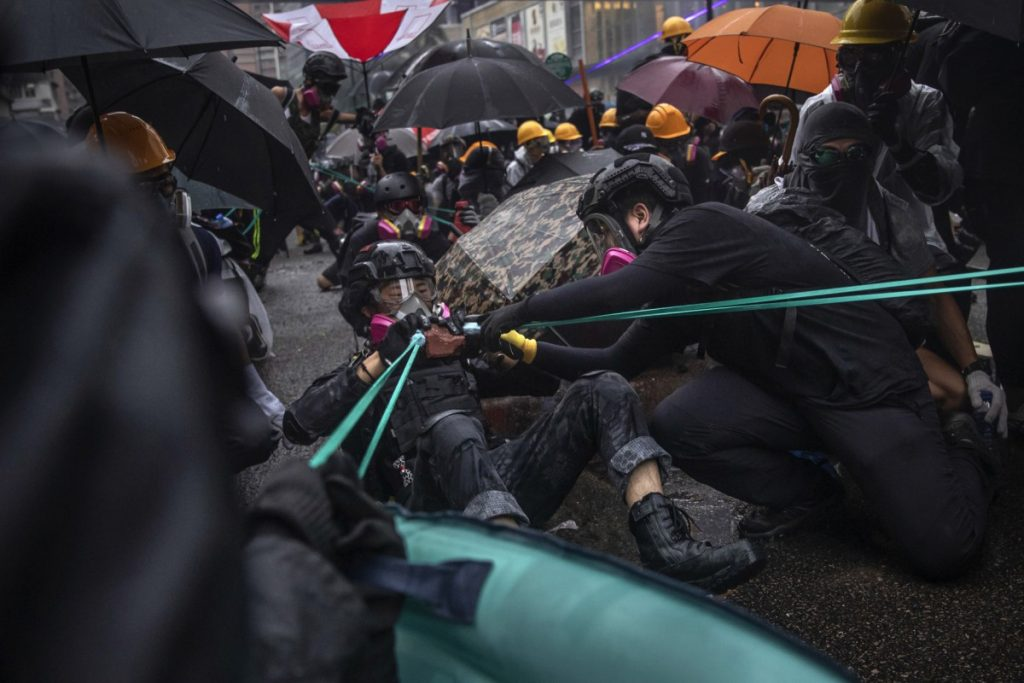 Hong Kong Reuters Pulitzer Prize for Breaking News Photography Protestas