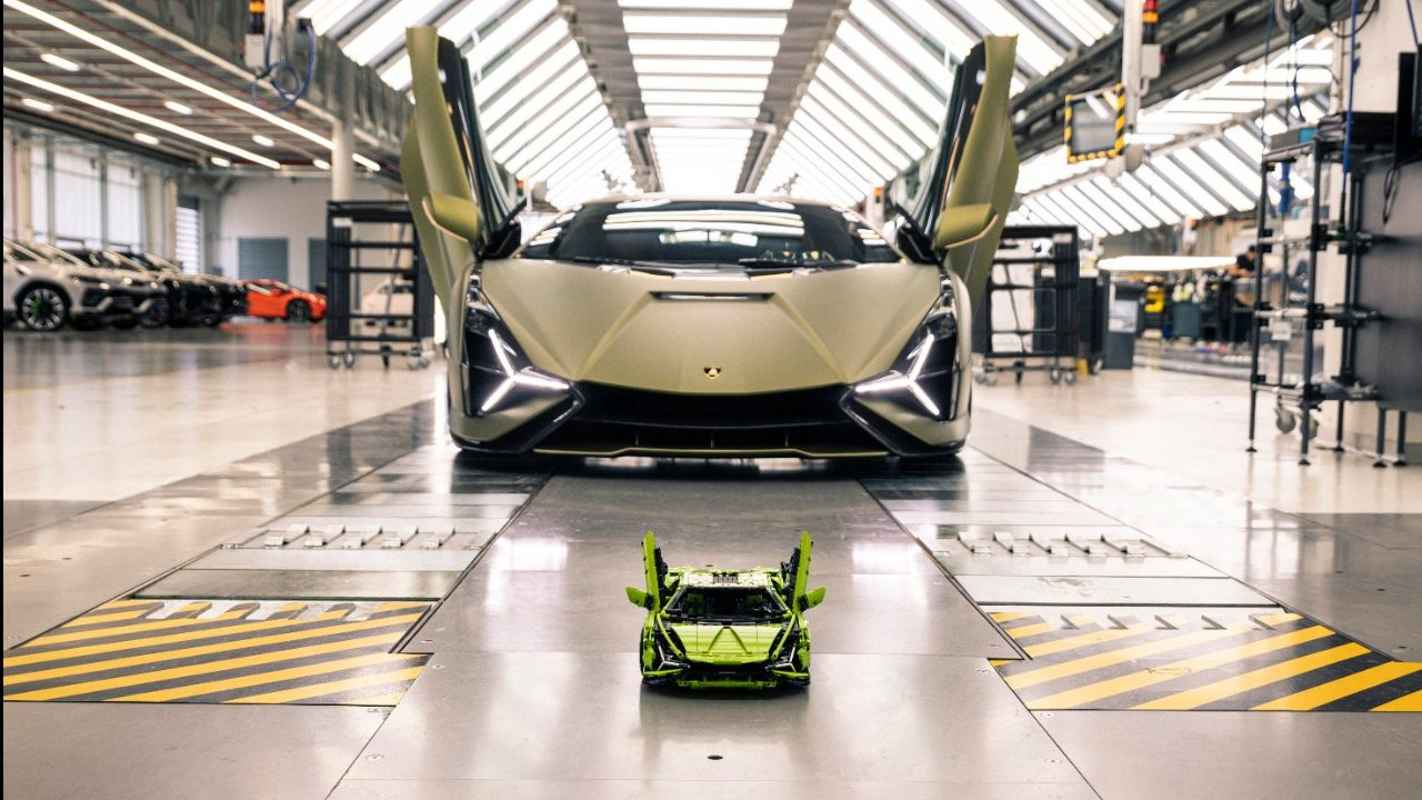 LEGO revela el nuevo relámpago: Lamborghini Sián FKP 37