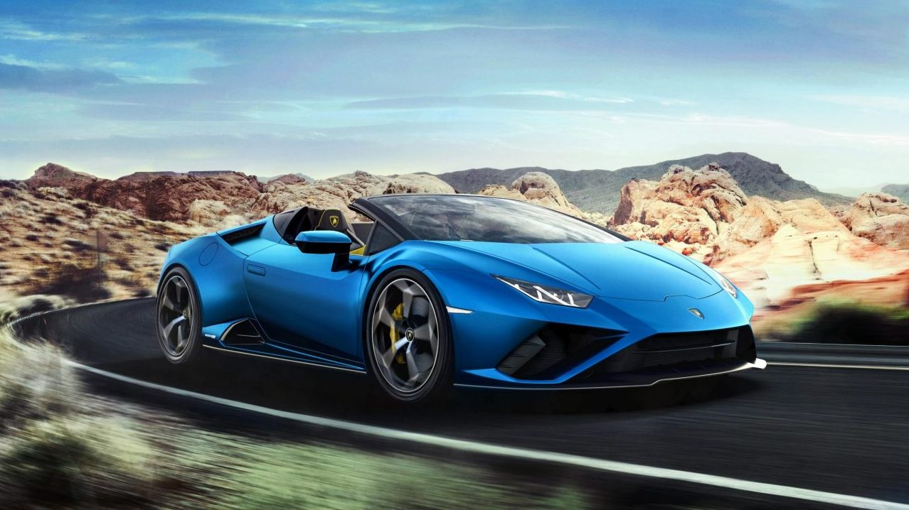 Lamborghini da a conocer Huracán EVO RWD Spyder en Realidad Aumentada