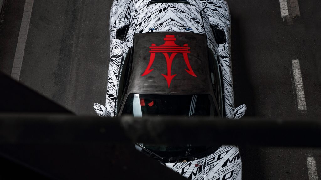 Maserati prototipo MC20