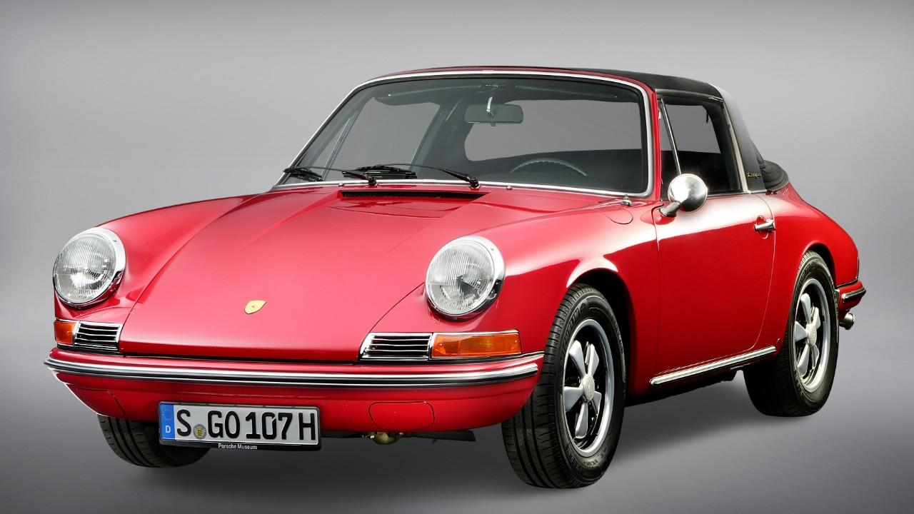 Porsche 911 Targa, una historia de innovaciones
