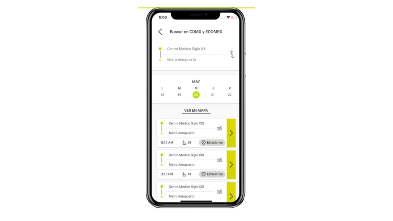 Traxión lanza una app de movilidad para competir con firmas de pasajeros