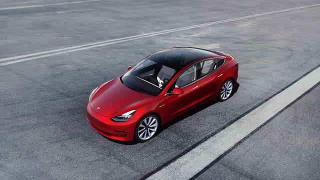 auto elécrico Tesla Model 3