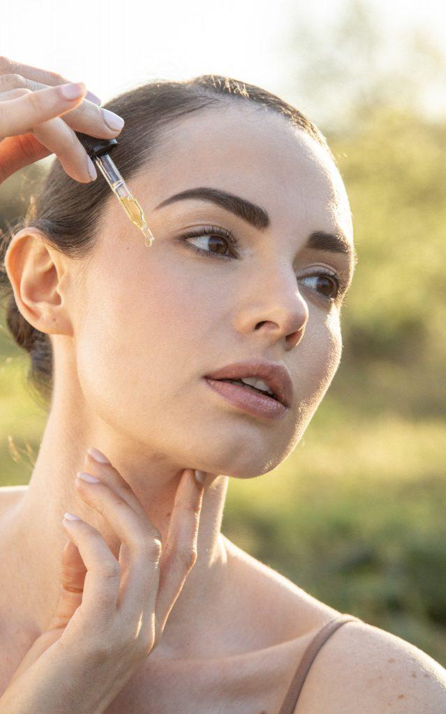 aceite de pitaya en rostro