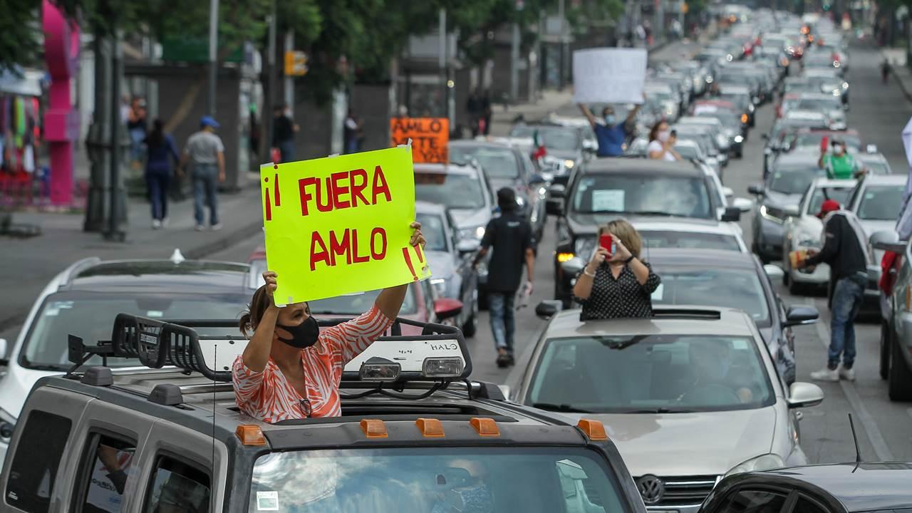 ¿Qué es el Frente Nacional anti-AMLO y quiénes lo apoyan?