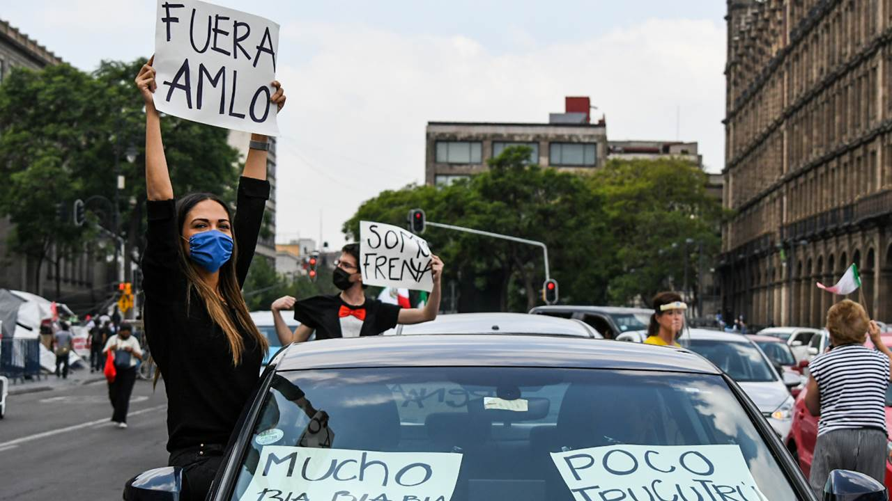 Protestas Anti-AMLO