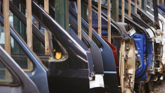 industria automotriz autos puertas
