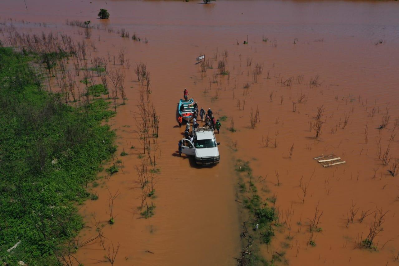 Daños en la península de Yucatán por tormentas tropicales