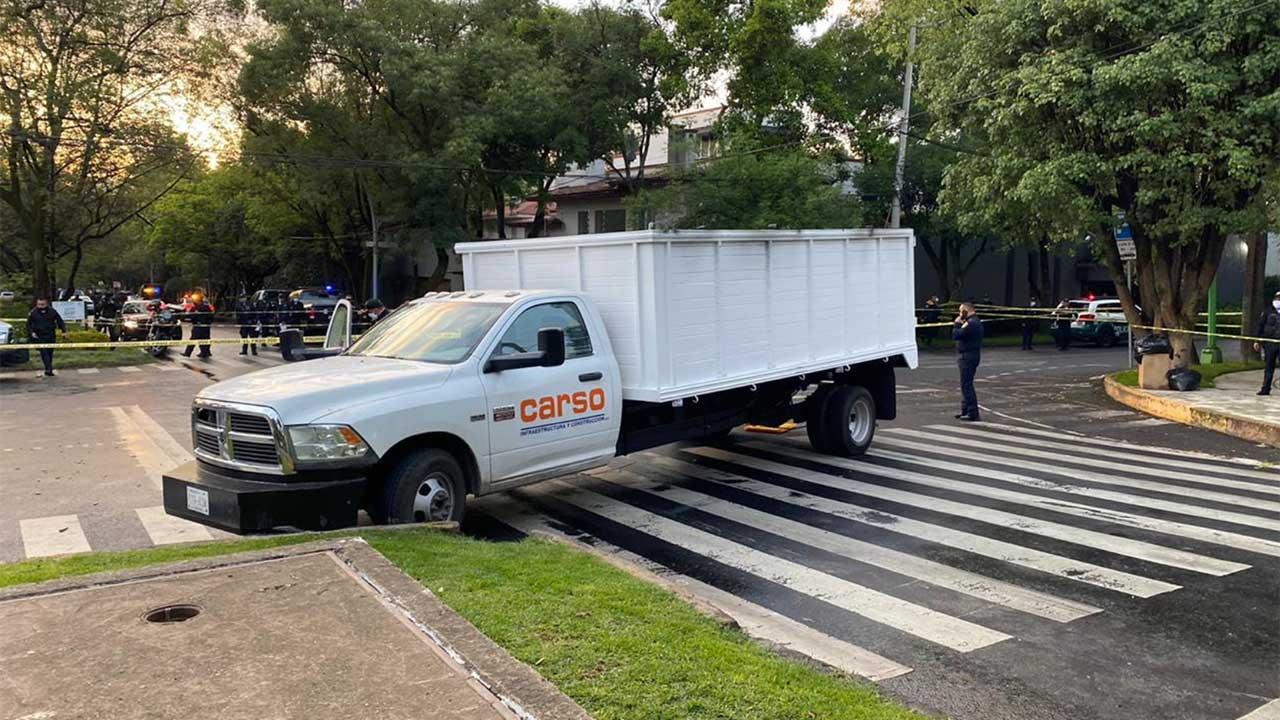 Carso se deslinda de vehículo utilizado en atentado contra García Harfuch