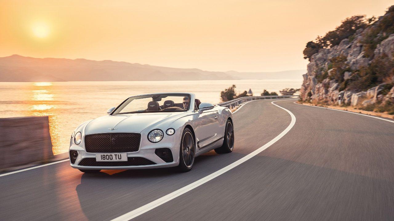 El Bentley Continental GT, su pináculo de lujo descapotable, llega a América