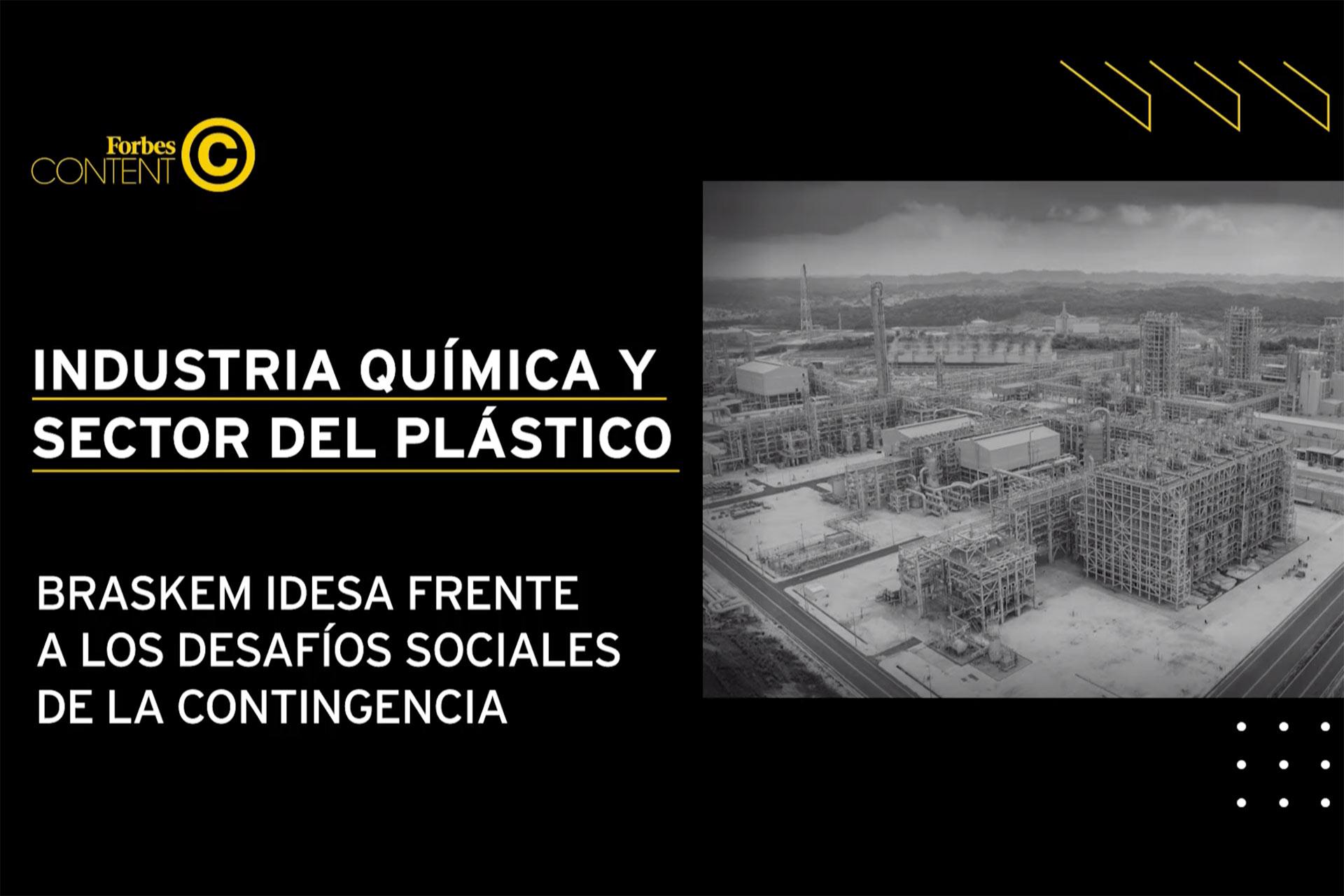 Braskem Idesa y la industria plástica frente al COVID-19