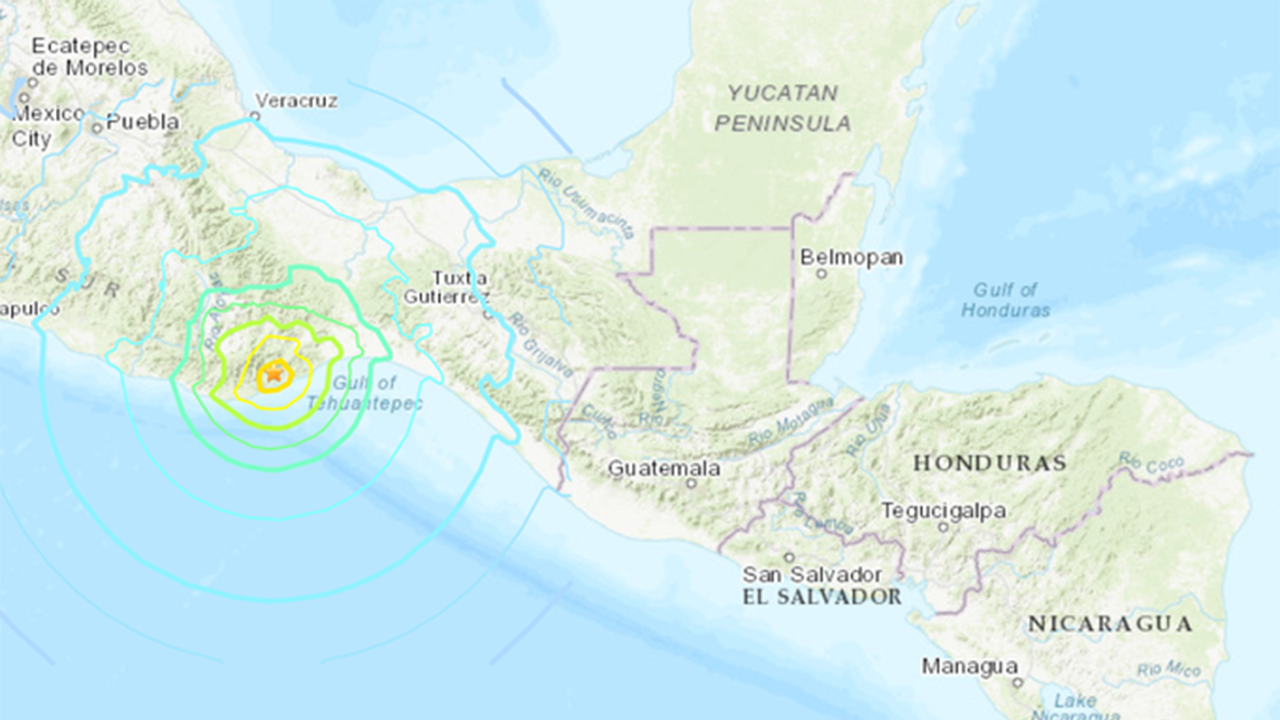 Conagua descarta tsunami; Marina monitorea subida en nivel del mar