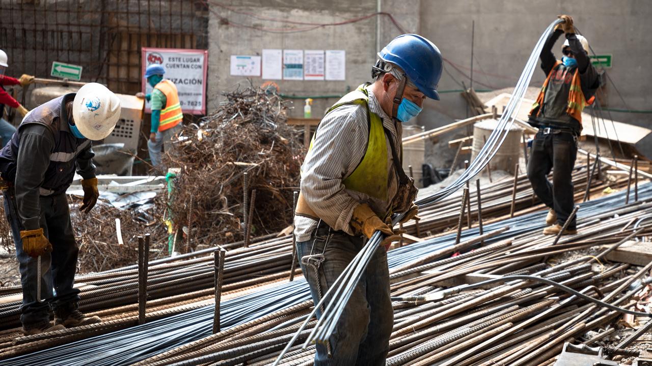 Producción industrial en México crece 9.4% entre enero y agosto