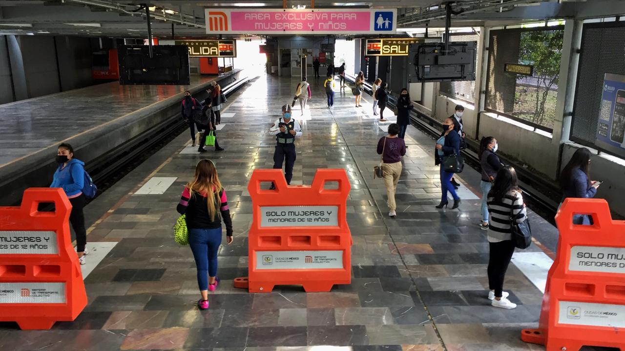 Avance de Control emergente del Metro de la CDMX, al 50%