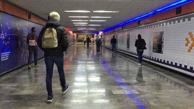 Coronavirus Metro auditorio transporte publico