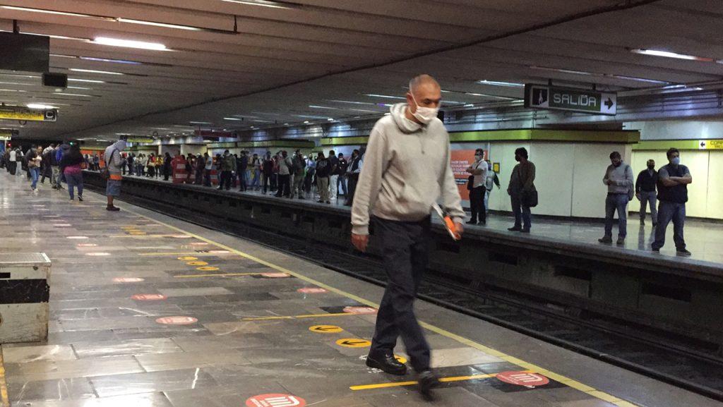 Coronavirus Metro Centro Médico transporte publico