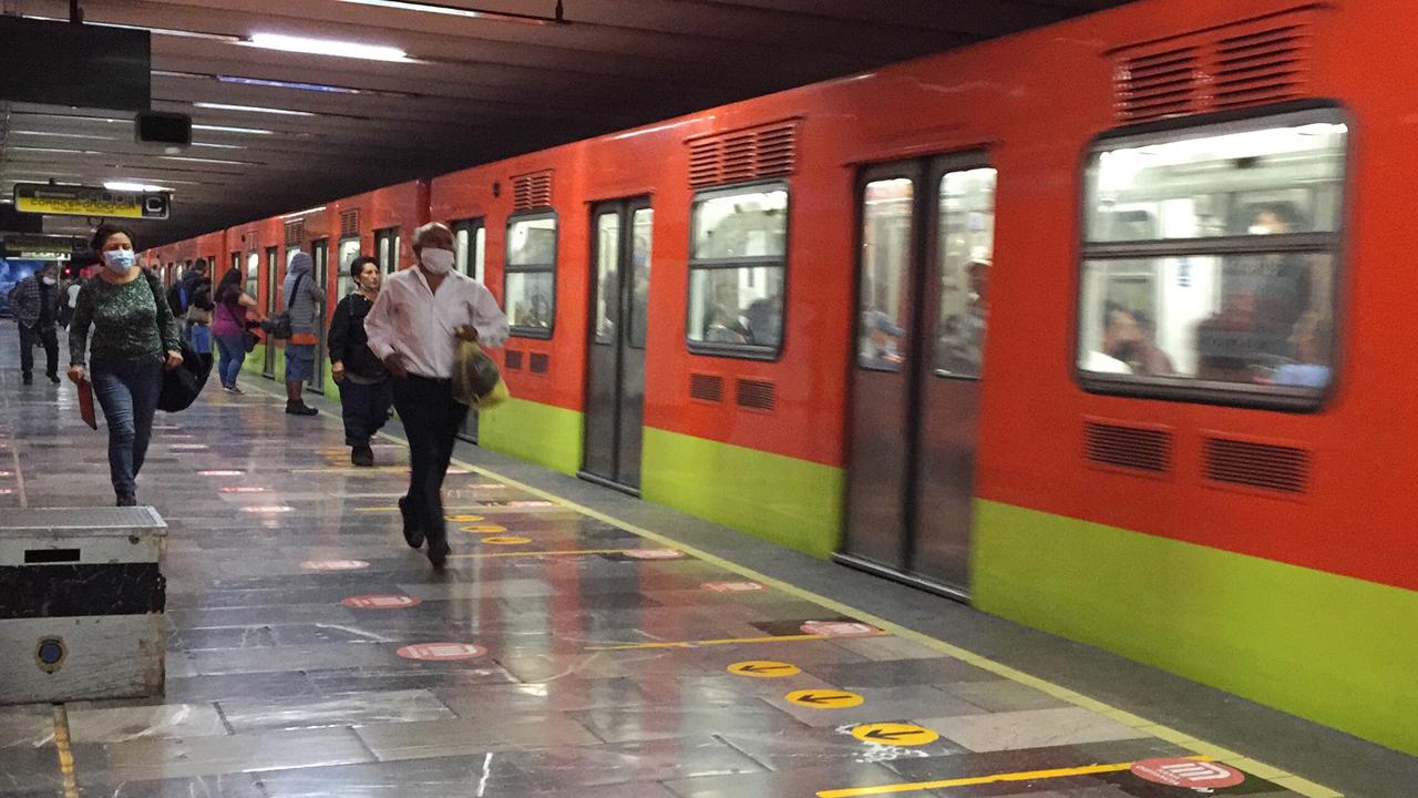 Línea 1 del Metro mañana reanudará operaciones con 10 trenes