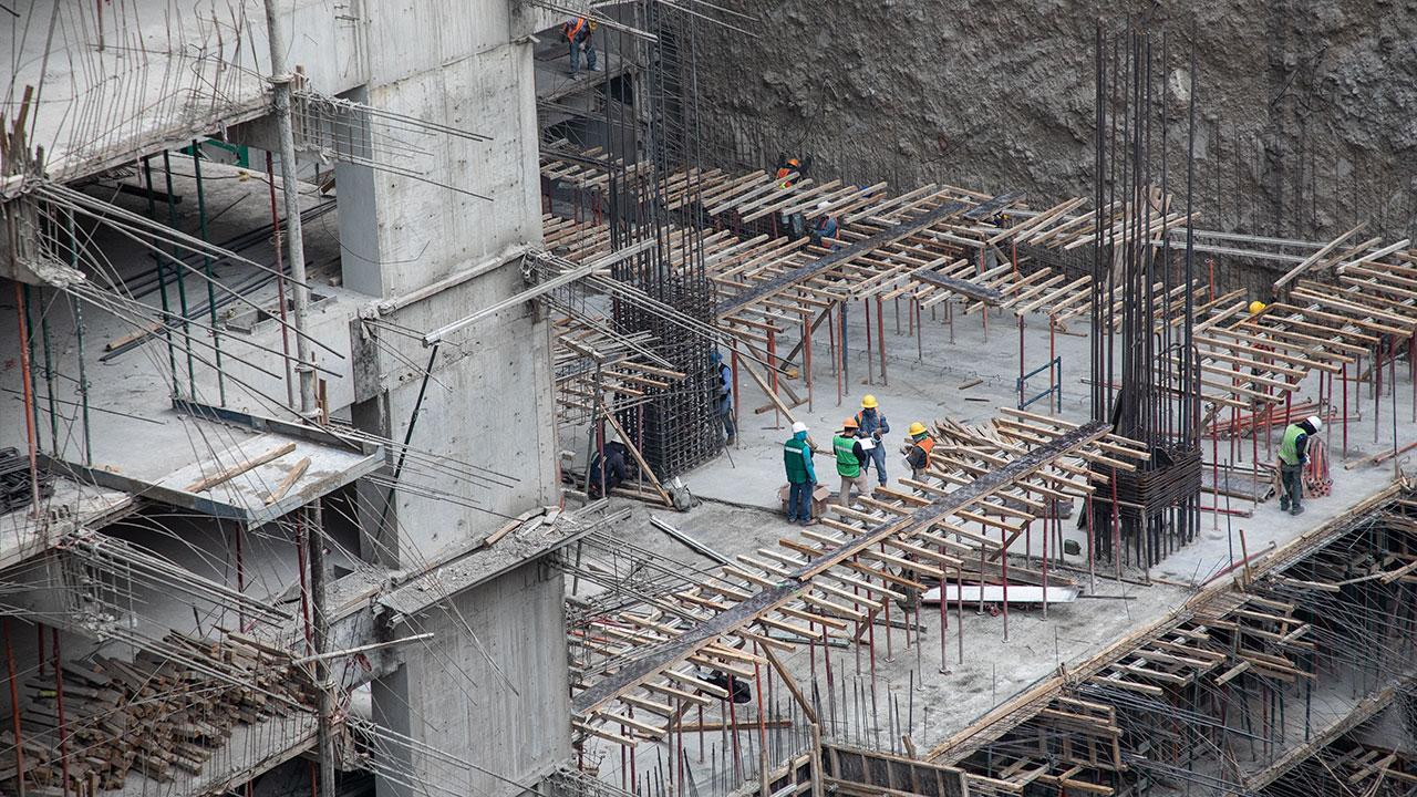 Estiman crecimiento en sector de la construcción de hasta 5% para 2021
